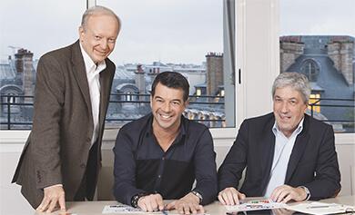 Bernard de Crémiers, Stéphane Plaza et Patrick-Michel Khider - Stéphane Plaza Immobilier